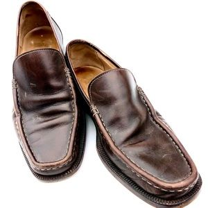 Ermenegildo Zegna Men's Leather Loafers